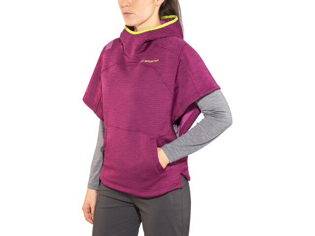 La Sportiva Punch-It Poncho Mujer, plum/purple